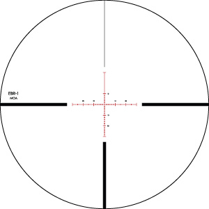 Vortex EBR-1 MOA Reticle