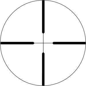 Weaver Dual-X Reticle