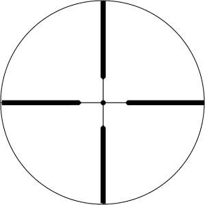 Weaver Varminter Reticle