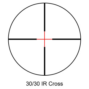 30-30 IR Cross Reticle