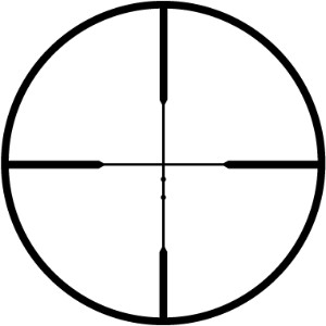 Leupold Rifleman Ballistic Reticle