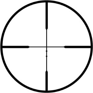 Leupold Rifleman Ballistic Reticle