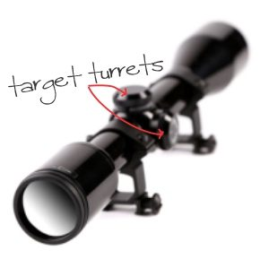 What are Rifle Scope Target Turrets