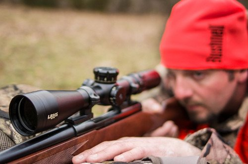 hunter sighting in bushnell elite lrhs rifle scope