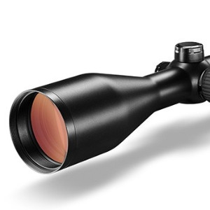 victory ht 3-12x56 model showing objective lens