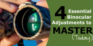 How to Adjust Binoculars: 4 Essential Adjustments to Master Today