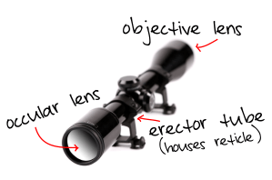 Rifle Scope Anatomy