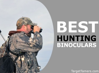 Male Hunter Using Binoculars