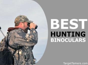 Male Hunter Using Binoculars
