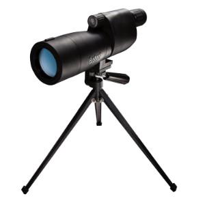 bushnell sentry 18-36x50 black spotting scope on tripod