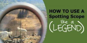 How to Set Up & Use a Spotting Scope (Like an Absolute Legend)