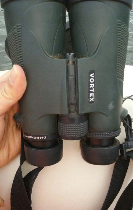 Field Text of Vortex Diamondback 10x50 Binoculars