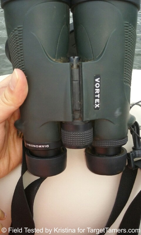 Field Text of Vortex Diamondback 10x50 Binoculars