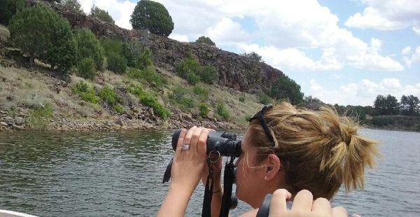 using vortex optics binocular