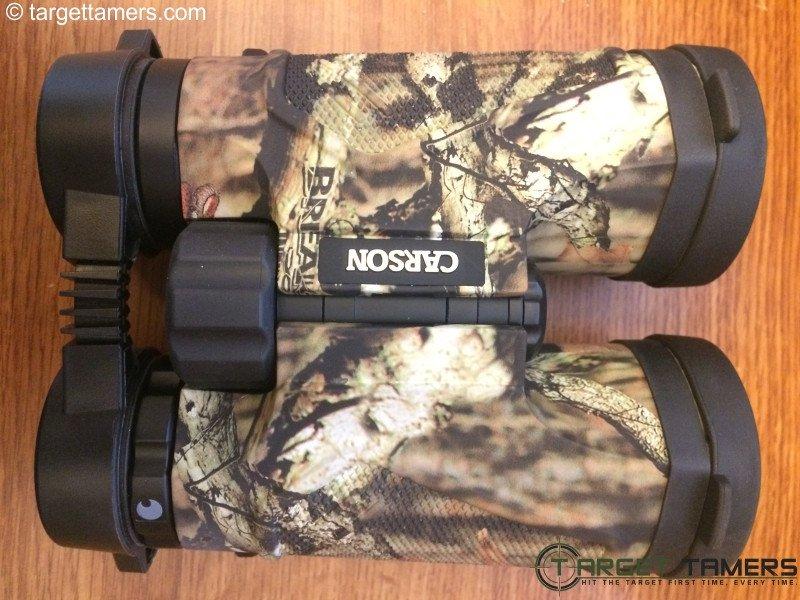 Carson 10x42 3D binoculars in Mossy Oak