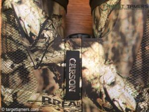 Carson logo showing on 3D binoculars