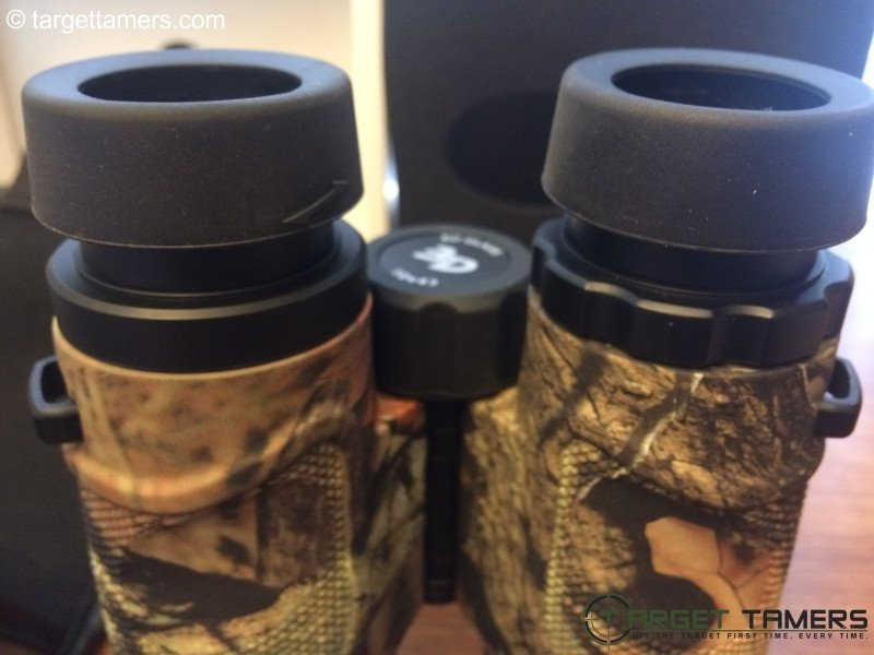 Picture showing eye relief on a Carson 3D binocular