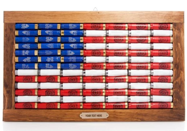 12-gauge American Flag Wall Art
