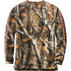 Big Game Field Camo Whitetails Long-Sleeved Shirt