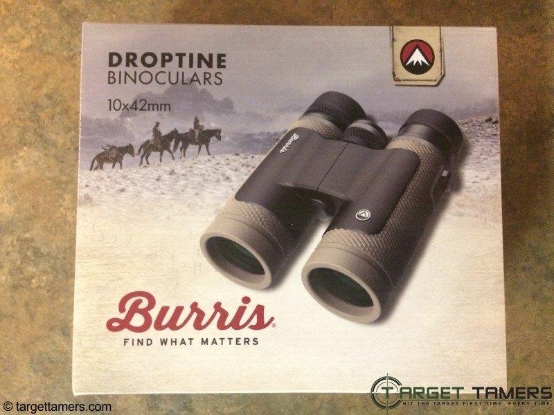 Burris Droptine binocular packaging