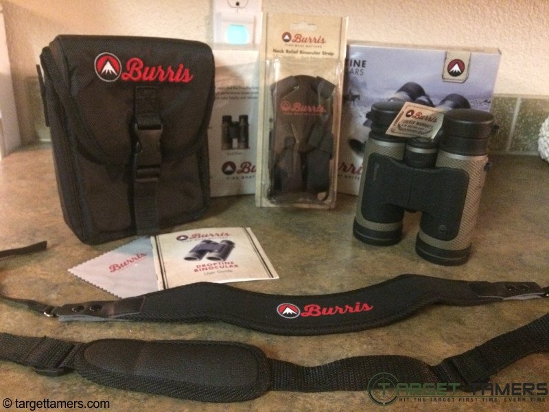 Accessories Included with Burris Droptine Binoculars