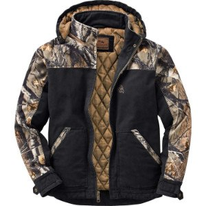 Legendary Whitetails Men's Canvas Workwear Jacket Black