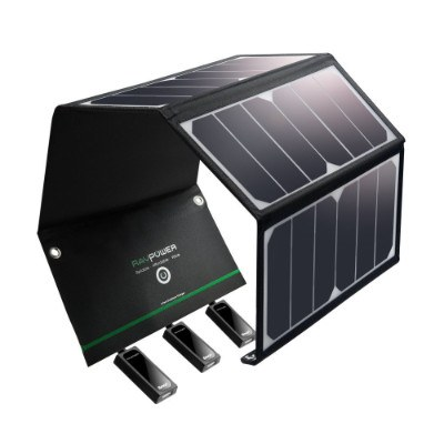 Solar Charger RAVPower 24W Solar Panel 1