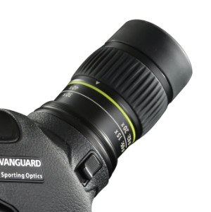 20-60x angled eyepeice on Vanguard 82A Spotting Scope