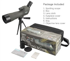 Accessories included in Emarth Spotting Scope Purchase