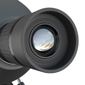 Eyepiece on Emarth Spotting Scope