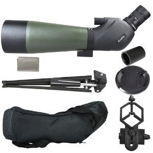 Gosky spotting scope and accessories