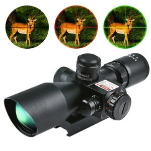 Illumination modes on CVLIFE 2.5-10x40e rifle scope
