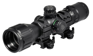UTG 3-9X32 scope with ring mounts