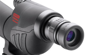 close up of rampage spotting scope eyepiece