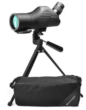 Barska Tactical 11-33x50 Spotting Scope with Tripod and Carry Case