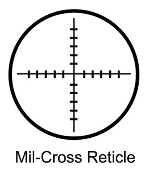 Barska Mil-Cross Reticle