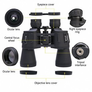 Bfull binoculars parts description