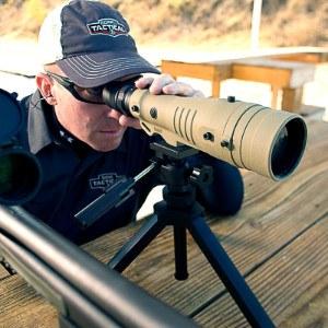 Elite Tactical 8-40x60 on Tripod