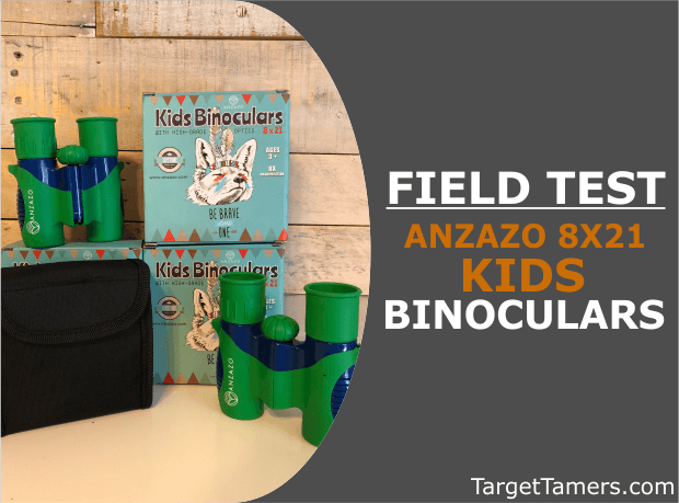 Field Test of 8X21 Anzazo Kids Binoculars