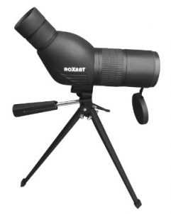Roxant Blackbird 12-36x50 Spotting Scope on Tripod Side On
