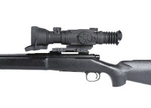 Drone Pro NV Scope mounted on rifle