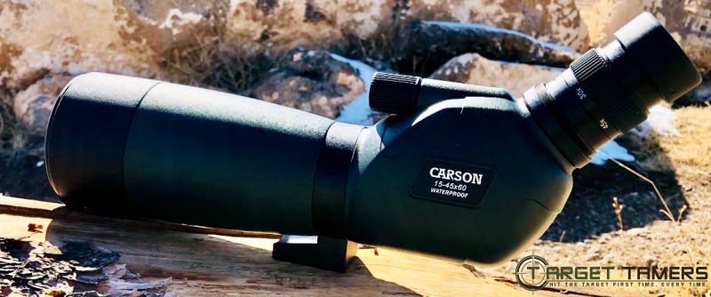Side View of Carson Everglade Spotting Scope