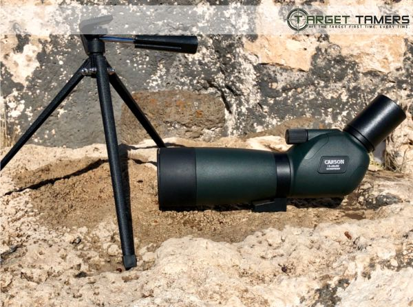 Everglade spotting scope and tripod