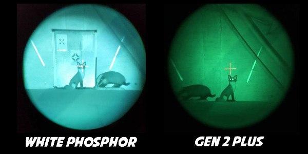 White Phosphor Technology vs Gen 2 Plus