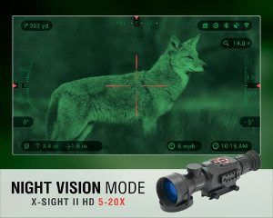 X-sight II HD focusing on Coyote
