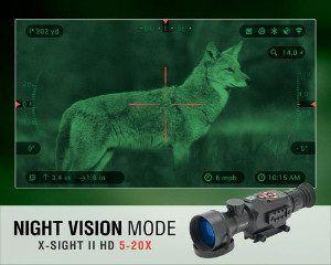 X-sight II HD focusing on Coyote