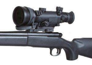 Armasight 3X NV Scope mounted on rifle