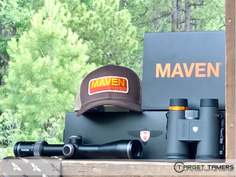 Maven hunting optics field testing