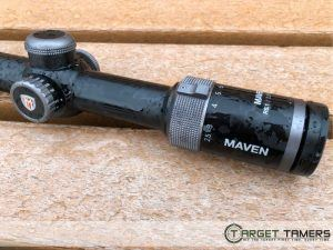 Magnification range of the Maven rifle scope RS.1