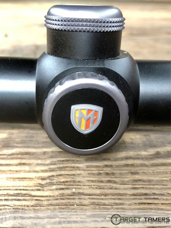 Side focus on RS.1 riflescope